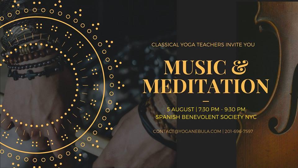Live Music Learn To Meditate Yoga Nebula